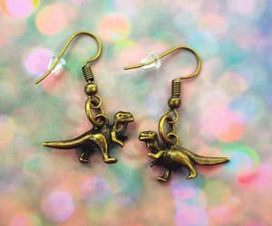 etsy, pastel grunge, and dangle earrings image