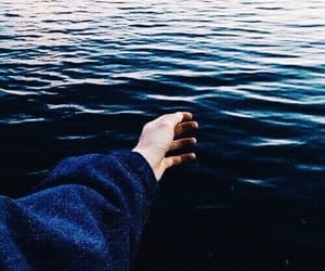 blue, theme, and ocean image