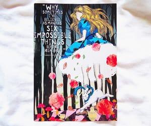 alice in wonderland, livro, and love books image