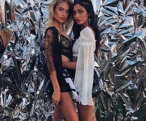 girl, fashion, and coachella image