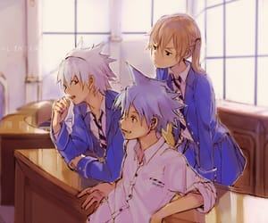 soul eater, anime, and black star image