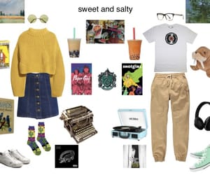 Collage, monet, and outfits image