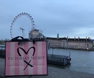 london eye, victorias secret, and river thames image