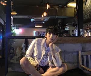 asian, boy, and dark image