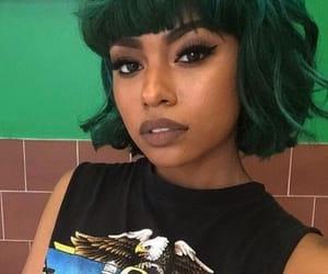 black girl, green, and black girl magic image