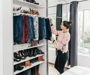 cleaning, closet, and decor image