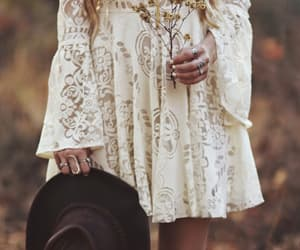 bohemian, brown, and boho image