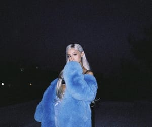 ariana grande, ariana, and blue image