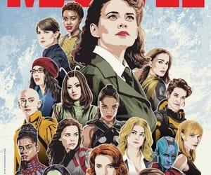 Marvel, black widow, and girl power image