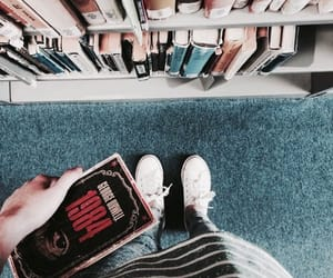 book, tumblr, and 1984 image