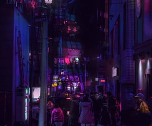aesthetic, neon, and japan image
