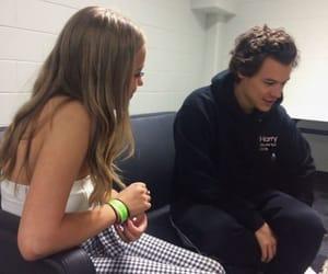 Harry con una fan