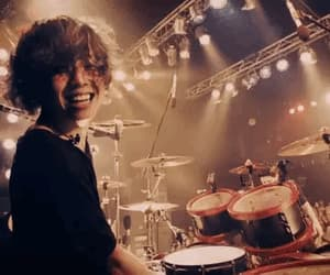 drums, gif, and jpop image