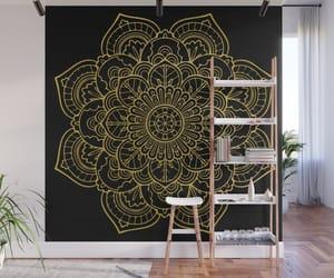 art, wall hanging, and mandalas image