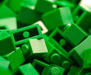 aesthetic, green, and lego image