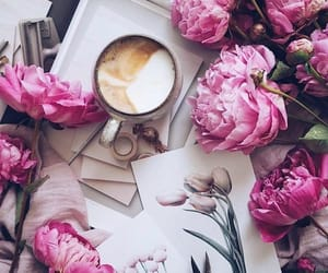 coffee, flowers, and smoothie recipes image