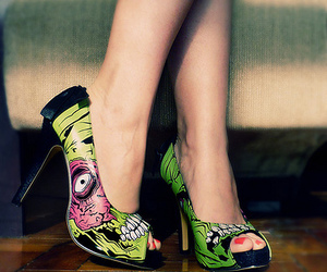 shoes, zombie, and iron fist image