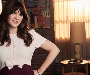 jess, zoey deschanel, and new girl image