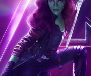 gamora, Marvel, and Avengers image