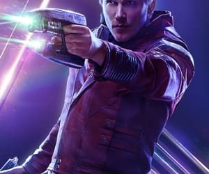 Marvel, Avengers, and star lord image