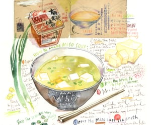 illustration, japan, and MISO image