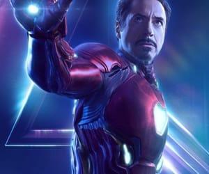 Avengers, iron man, and infinity war image