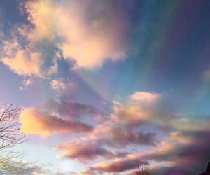 alternative, clouds, and colors image