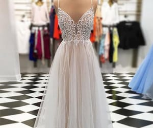 Prom, fashion, and prom dress image