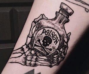 bottle, creepy, and grunge image