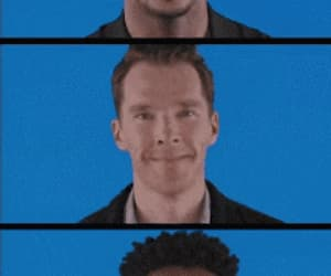 actor, funny face, and gif image