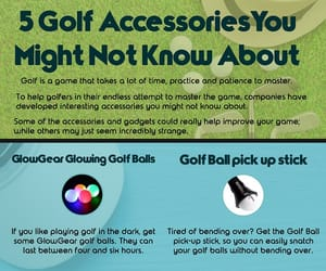 golf accessories, college of golf, and career in golf image