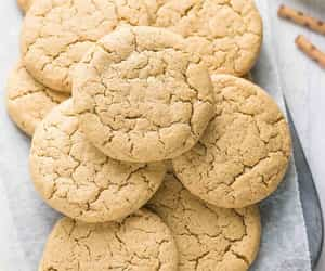 Healthy Eggless Flourless Peanut Butter Cookies with oatmeal flour
