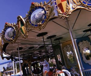 carrousel, amusementpark, and bff image