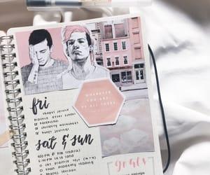 top, bullet journal, and twenty one pilots image