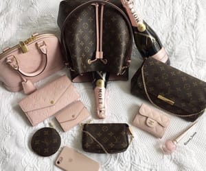 chanel, key holder, and Louis Vuitton image