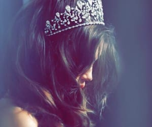 girl, crown, and princess image