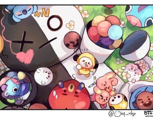 kpop, van, and tata image