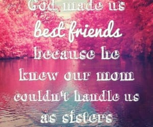 best friends, sisters, and friends image