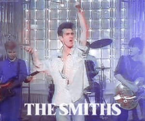gif, morrissey, and the smiths image