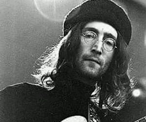 music, peace, and johnlennon image