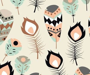 background, feather, and pattern image