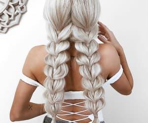 braids, design, and fashion image