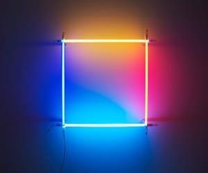 neon, grunge, and light image