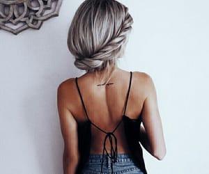 fashion, girl, and top image