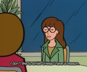 Daria, smile, and quotes image