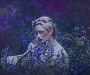 fairy, flowers, and lilac image