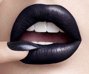 black lipstick, katykat, and ️covergirl image
