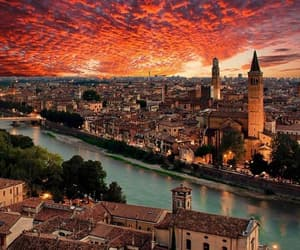 verona, italy, and city image