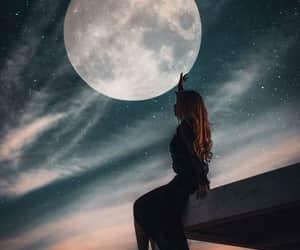 memories, moon, and moonlight image