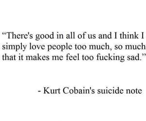 nirvana, kurt cobain, and quotes image